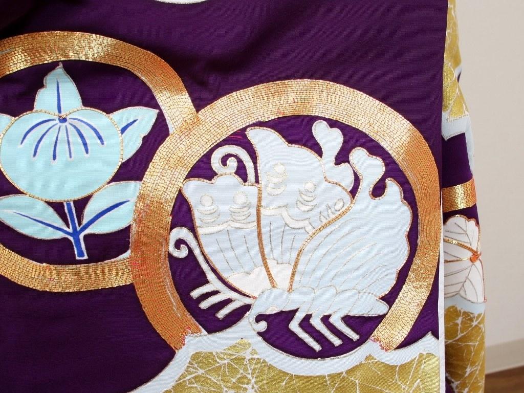 アンティーク色打掛レンタル 紫