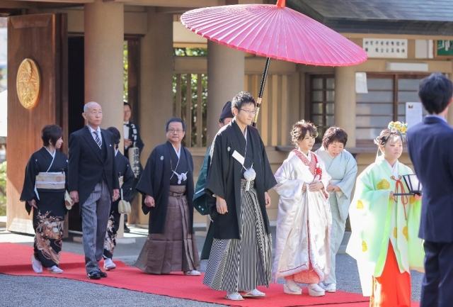 東郷神社挙式