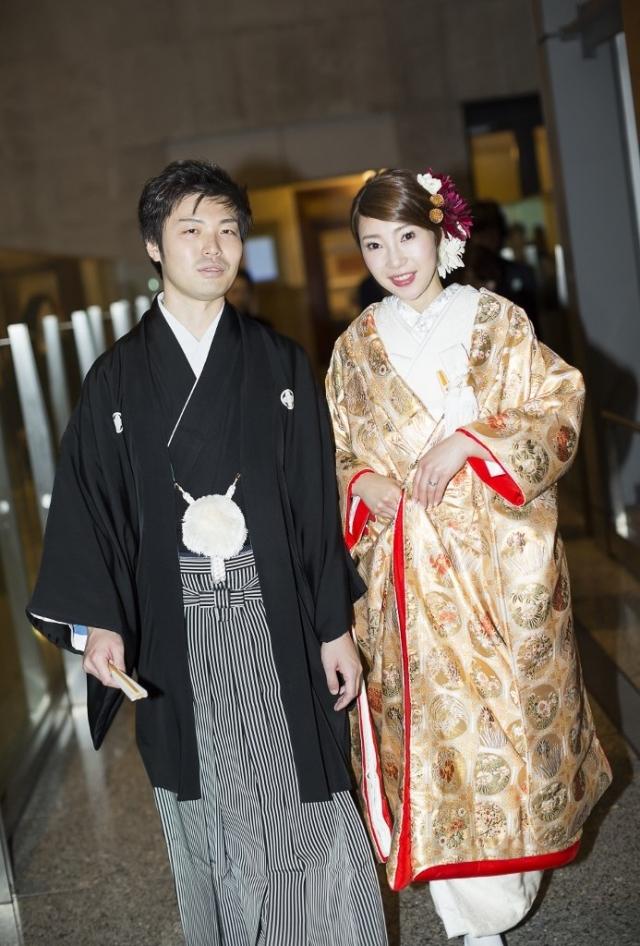 マンダリンオリエンタル東京挙式 佐賀錦色打掛