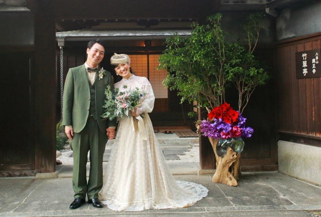 普門園結婚式衣裳