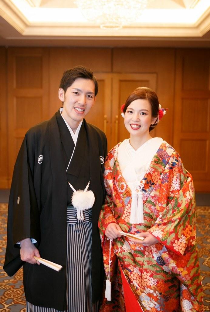 名古屋観光ホテル 花嫁様 色打掛
