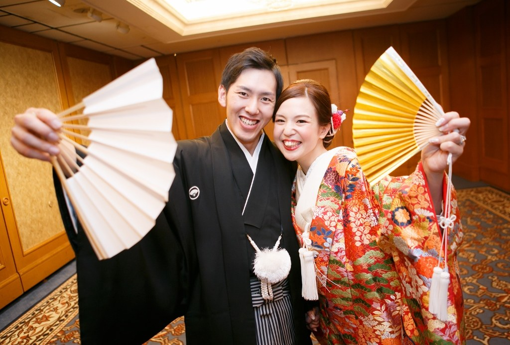名古屋観光ホテル 唐織色打掛レンタル