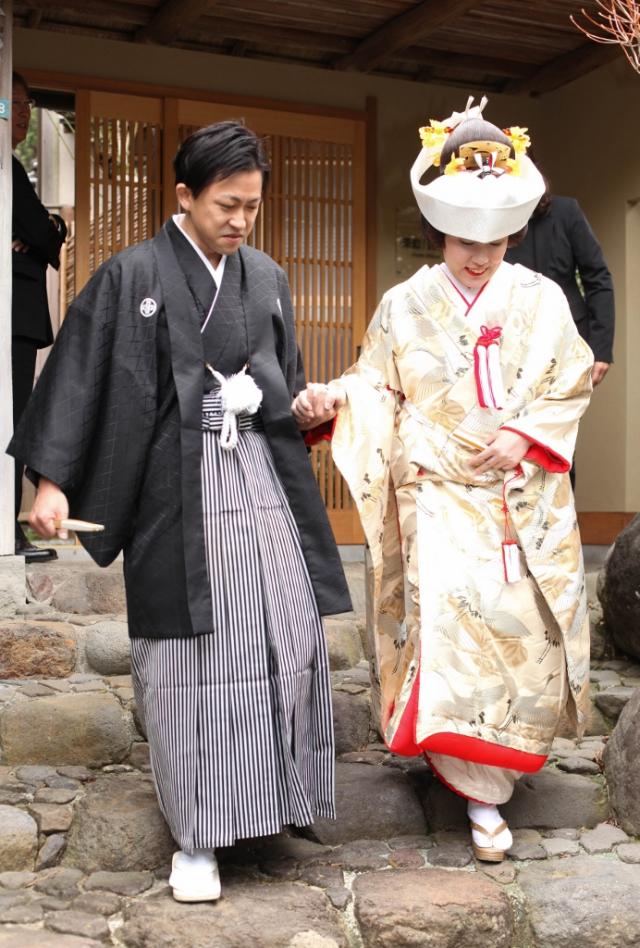 来宮神社挙式 川島織色打掛レンタル