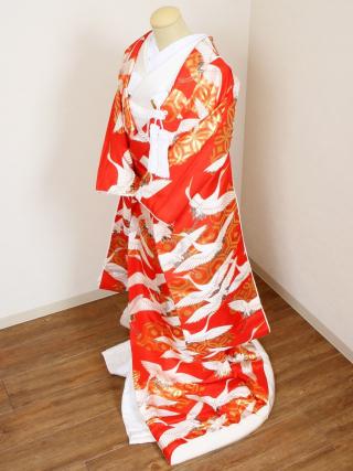 川島織物製色打掛