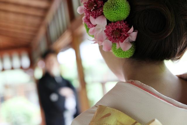 和装婚の髪型やメイクなどについて